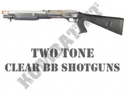 Clear BB Shotguns